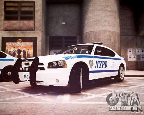 Dodge Charger 2010 NYPD ELS para GTA 4