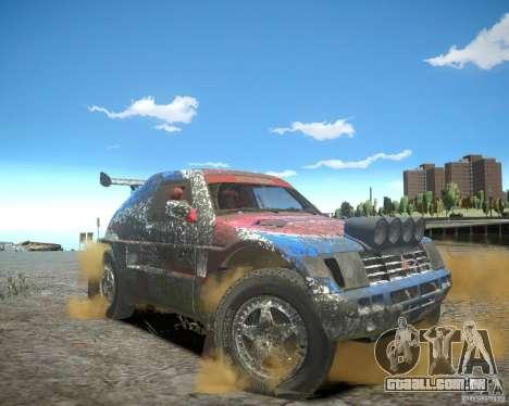 Mitsubishi Pajero Proto Dakar EK86 para GTA 4 interior