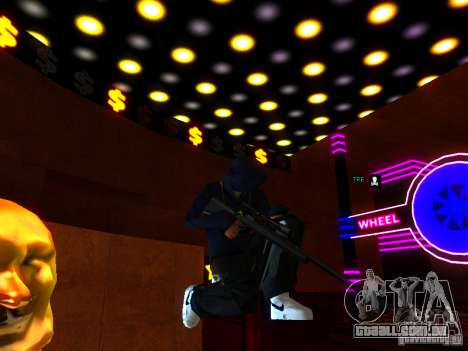 New Weapons para GTA San Andreas sexta tela