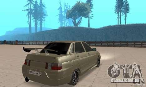 LADA 21103 v. 1.1 para GTA San Andreas esquerda vista