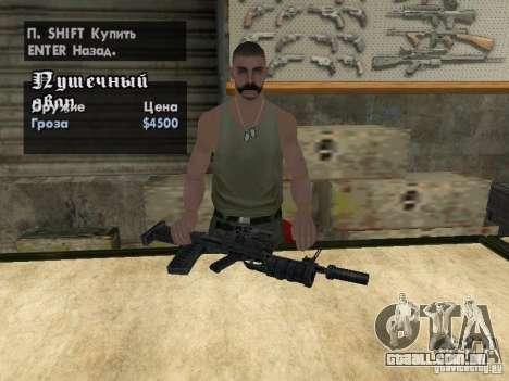 Armas de Pak domésticos para GTA San Andreas