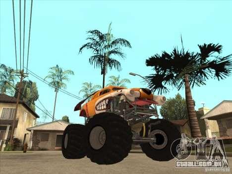 Monster Mutt para GTA San Andreas vista traseira
