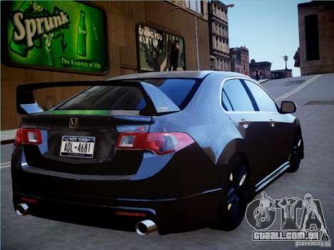Honda Accord Mugen para GTA 4 esquerda vista