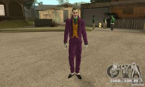 HQ Joker Skin para GTA San Andreas
