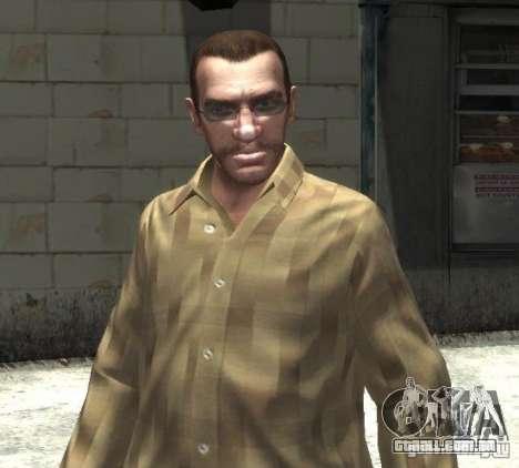 Novos óculos para Niko-brilhante para GTA 4