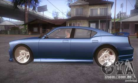GTA IV Buffalo para GTA San Andreas esquerda vista