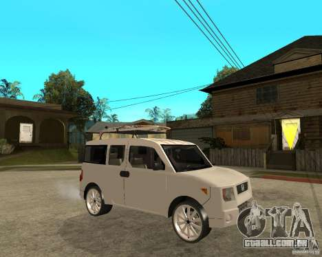 Honda Element para GTA San Andreas vista direita