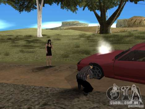 Viagem de carro para GTA San Andreas terceira tela