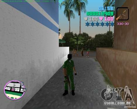 AK-74 para GTA Vice City terceira tela