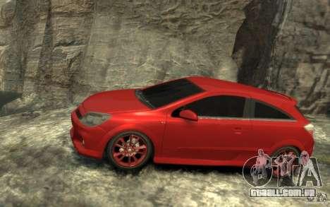 Vauxhall Astra VXR 2006 para GTA 4 esquerda vista