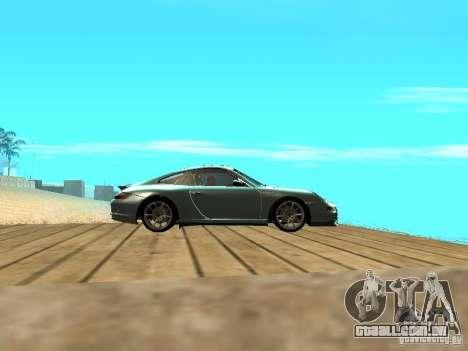 Porsche 997 GT3 RS para GTA San Andreas vista interior