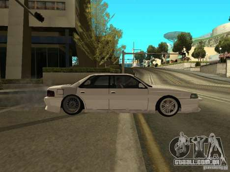 DR Sultan para GTA San Andreas esquerda vista