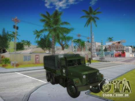 AM General M35A2 para GTA San Andreas vista traseira