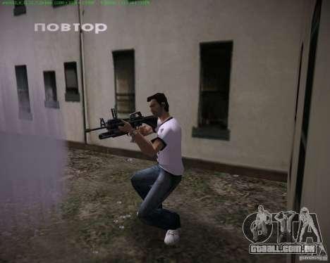 M-16 de Scarface para GTA Vice City terceira tela