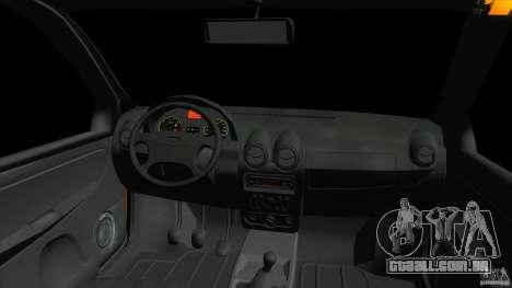 Lada Granta para GTA Vice City vista traseira