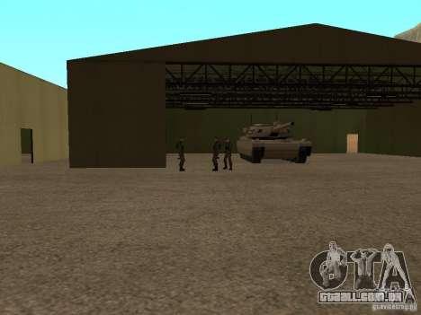 Animada área 69 para GTA San Andreas segunda tela