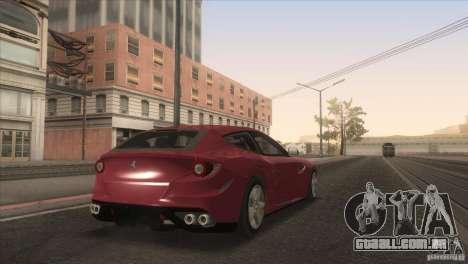 Ferrari FF 2011 V1.0 para GTA San Andreas vista inferior