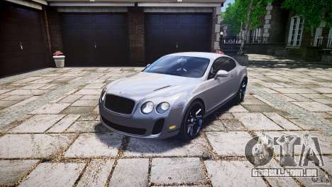 Bentley Continental SuperSports 2010 [EPM] para GTA 4