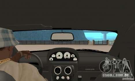 Panoz Esperante GTLM 2005 para GTA San Andreas vista traseira