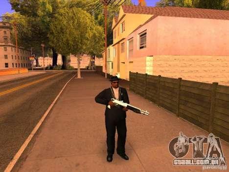 TeK Weapon Pack para GTA San Andreas segunda tela
