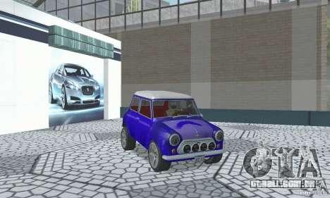 Mini Cooper S para GTA San Andreas vista interior