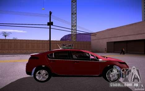 Chevrolet Volt para GTA San Andreas vista direita
