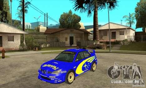 Subaru Impreza STi WRC wht2 para GTA San Andreas