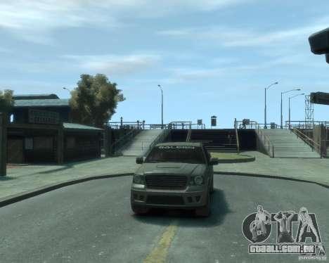 Saleen s331 para GTA 4 vista de volta