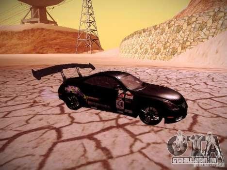 Lexus SC430 Daigo Saito para GTA San Andreas vista direita