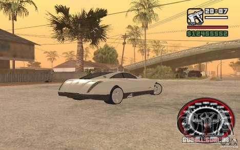 Maybach Exelero para GTA San Andreas traseira esquerda vista
