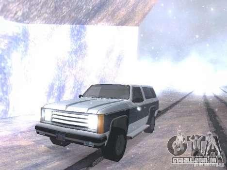 Snow MOD HQ V2.0 para GTA San Andreas sexta tela
