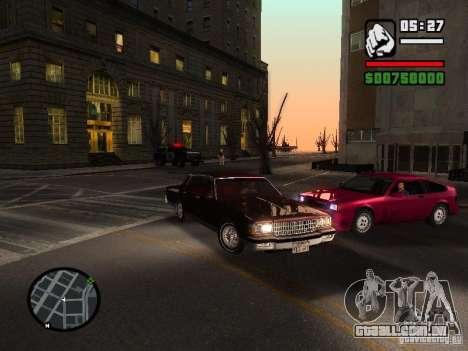 Chevrolet Caprice Classic 87 para GTA San Andreas vista direita
