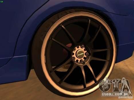 Dodge Neon SRT4 2006 para GTA San Andreas vista traseira