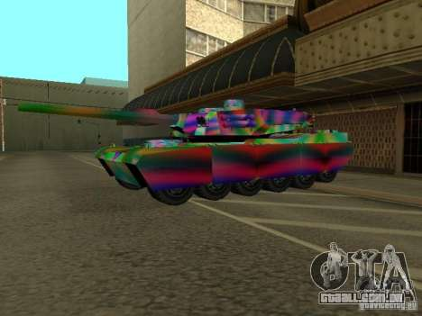 Um tanque de cor alegre para GTA San Andreas