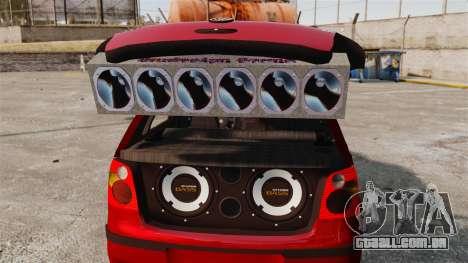 Volkswagen Polo Edit para GTA 4