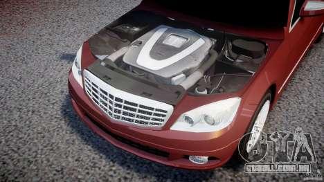 Mercedes-Benz C 280 T-Modell/Estate para GTA 4 vista de volta