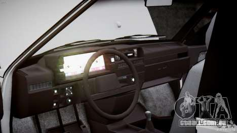 VAZ 21083i para GTA 4 vista inferior