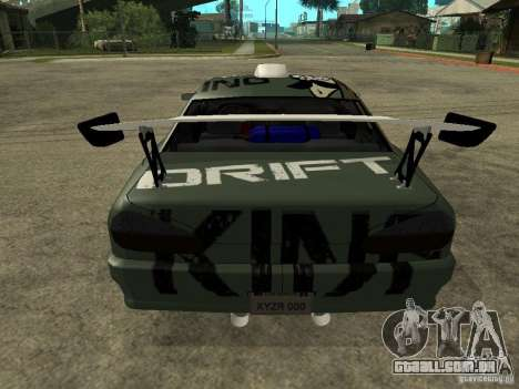 Vinil sobre a elegia para GTA San Andreas segunda tela