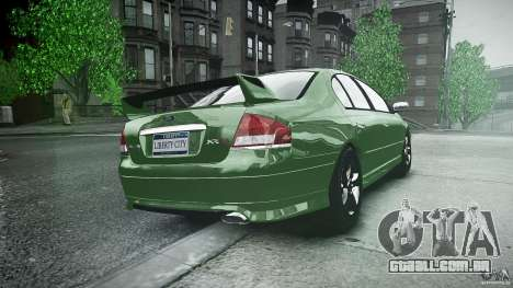 Ford Falcon XR8 2007 Rim 1 para GTA 4 vista lateral