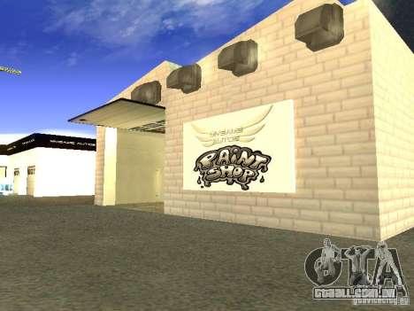 [HD] rede de garagens de automóveis de MyGame para GTA San Andreas quinto tela