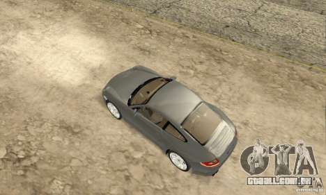 Porsche Carrera S 2009 para GTA San Andreas traseira esquerda vista