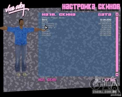 4 skins e modelo para GTA Vice City por diante tela