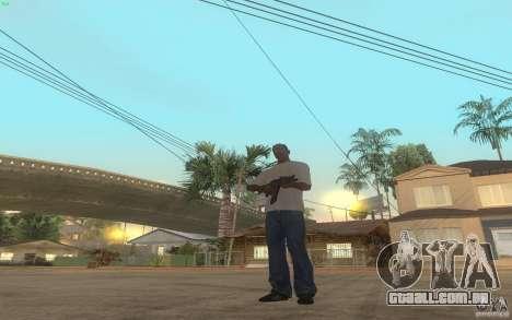 AKS-74U para GTA San Andreas quinto tela