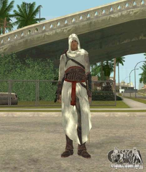 Assassins skins para GTA San Andreas quinto tela