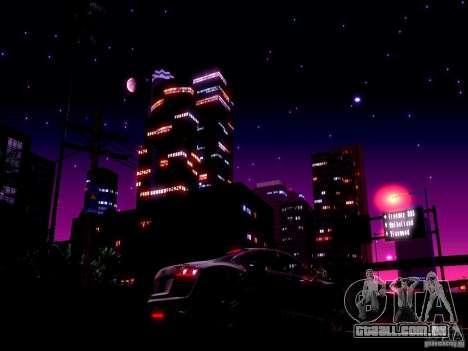 Céu estrelado V 2.0 (jogador) para GTA San Andreas