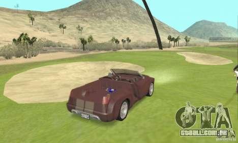 Dodge Sidewinder Concept 1997 para GTA San Andreas esquerda vista