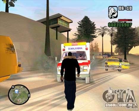 Ambulância para GTA San Andreas terceira tela