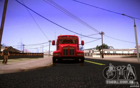 Kenworth T600 para GTA San Andreas vista superior