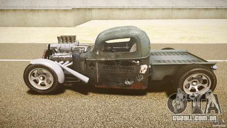 Ford Ratrod 1936 para GTA 4 vista interior