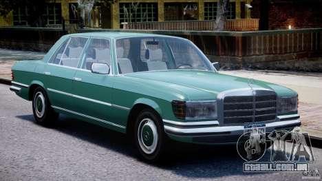 Mercedes-Benz 280SE W116 para GTA 4 esquerda vista